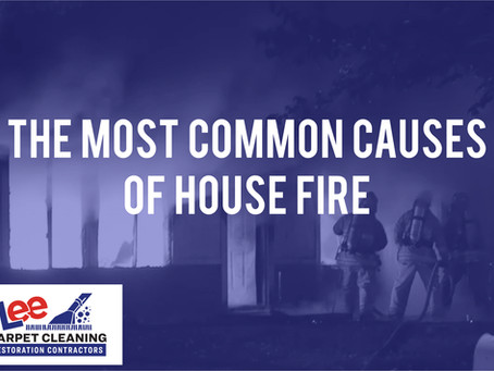 The Most Common Causes of a House Fire.