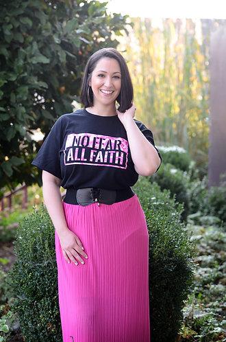 No Fear All Faith.  (Pink Camo)