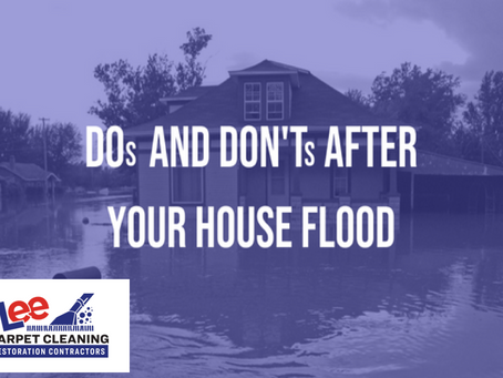 DOs and DON'Ts After Your House Floods