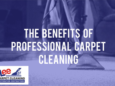 The Benefits of Professional Carpet Cleaning
