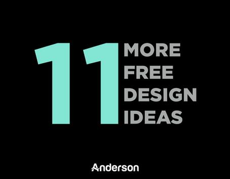 11 More Free Design Ideas