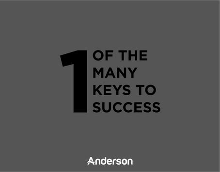 One of Many Keys to Success | Food for Thought