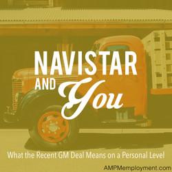 Navistar and You