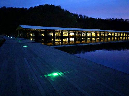 Aruba Slim (Low Profile Solar LED Dock Light)