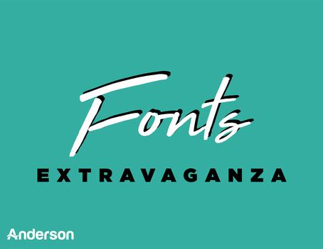 Fonts Extravaganza | 15+ Free Font Websites