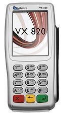 Verifone Terminal VX820, Credit Card