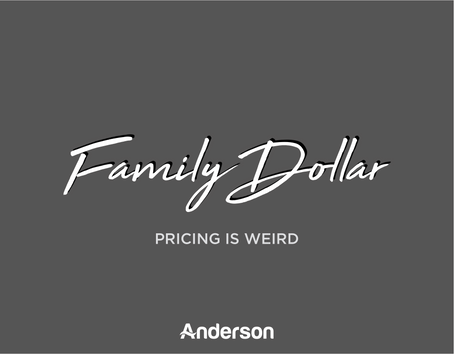 Family Dollar | Pricing is Weird