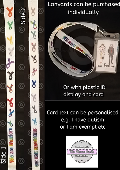 Lanyard available with ID Card + Plastic Display
