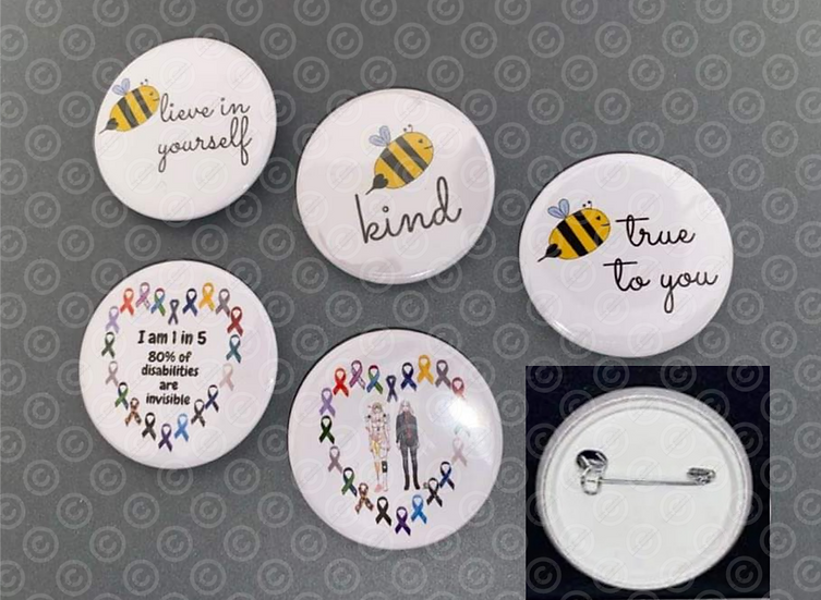 Badges in Different Designs