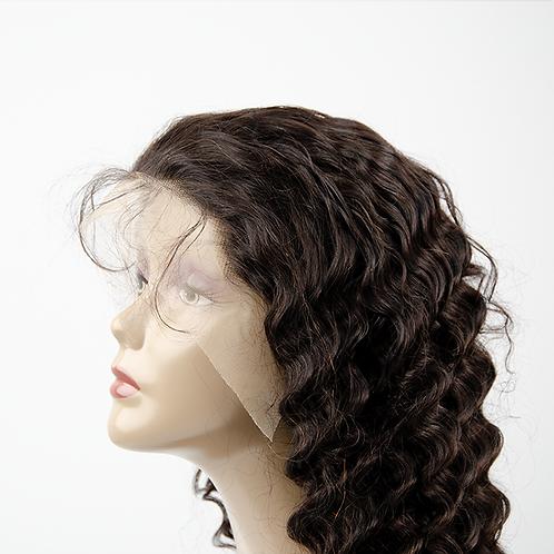 Deep Wave Transparent 13x4 Frontal Wigs