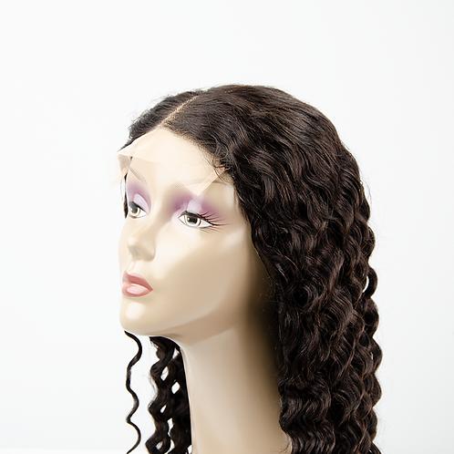 Deep Wave Transparent 5x5 Closure Wigs