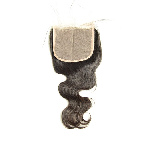5x5 Body Wave Transparent Lace Closure