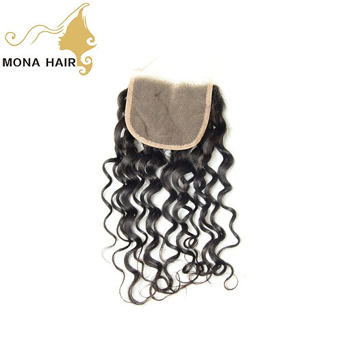 Mona Hair 4x4 Lace Closure Deep Wave