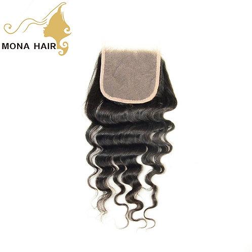 Mona Hair 4x4 Lace Closure Natural Wave