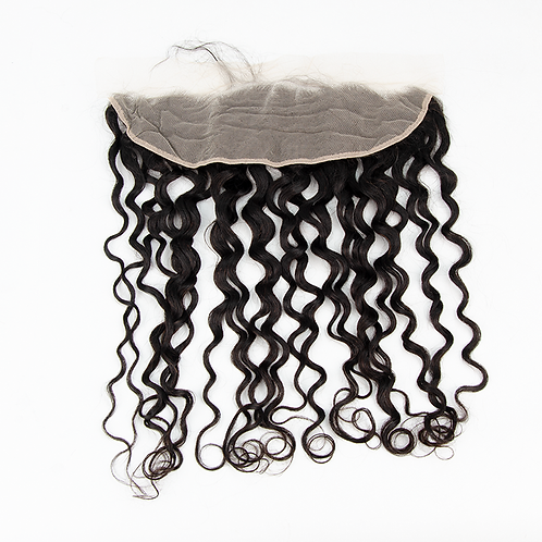 13x4 Water Wave Transparent Lace Frontal