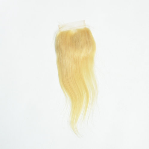Mona Hair 613 Color 4x4 Lace Closure Straight