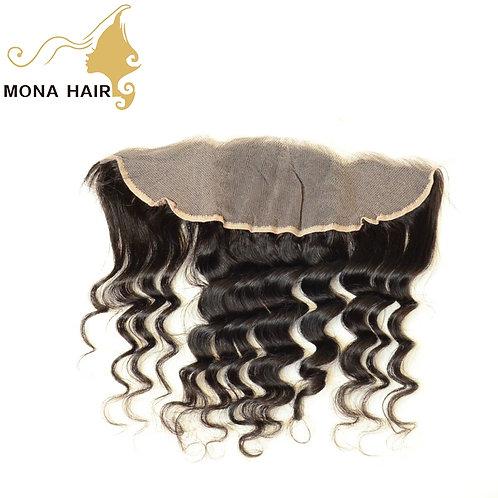 Mona Hair 13x4 Lace Frontal Closure Natural Wave