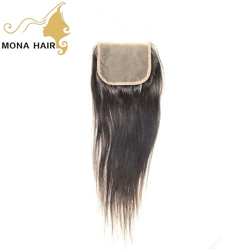 Mona Hair 4x4 Lace Closure Straight