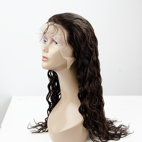 Water Wave Transparent 13x4 Frontal Wigs