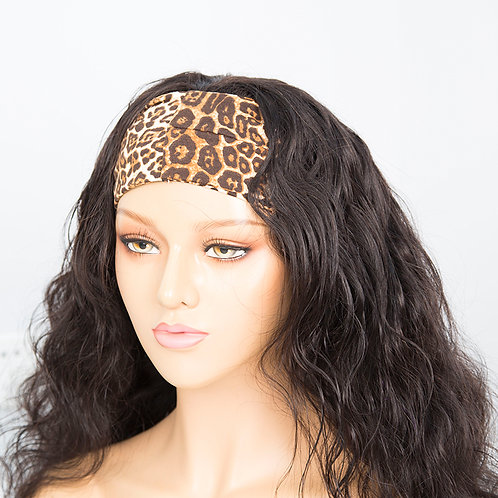 200g Brazilian Hair Headband Wigs