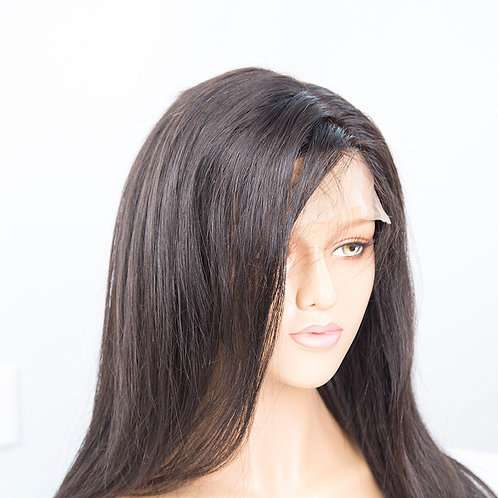 Mona Hair Transparent 5x5 Closure Wigs Straight