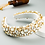 Thumbnail: Baroque Rhinestone Wide Hoops Sparkle Party Headband M94 (5Pieces)