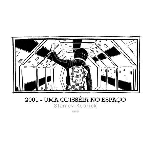 2001 - Uma Odisséia No Espaço - Stanley Kubrick