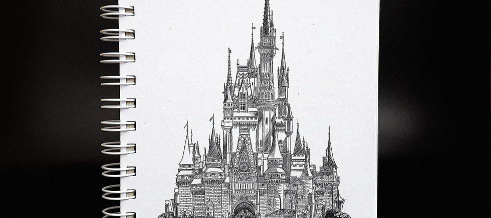 COLEÇÃO SONHOS | Caderno do Castelo