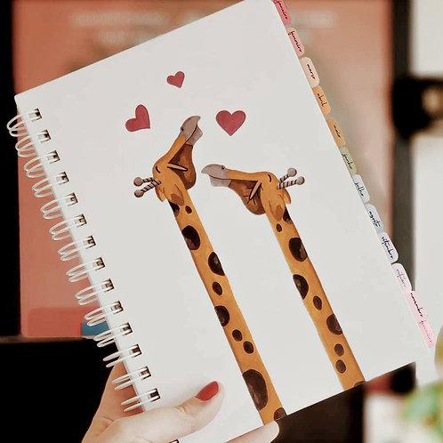 PLANNER DOS SONHOS - Girafa
