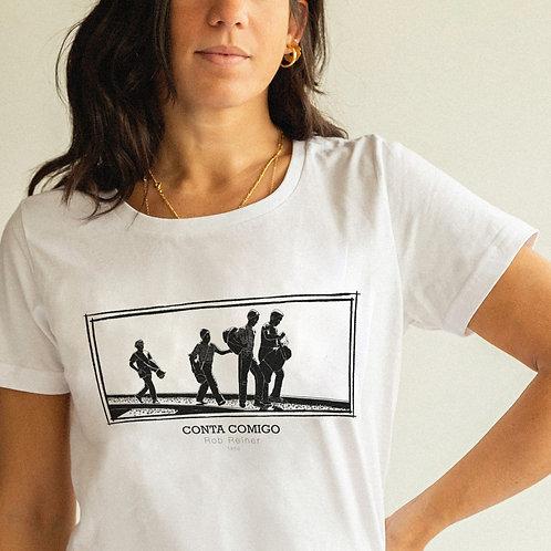 """Camiseta """"CONTA COMIGO"""""""