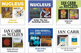 The famous Nucleus and Rendell Carr Quintet twofers  (Thanks to BGO Records)
