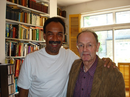I.C. with George Cole, author of The Last Miles (image kindly supplied by G.C.)