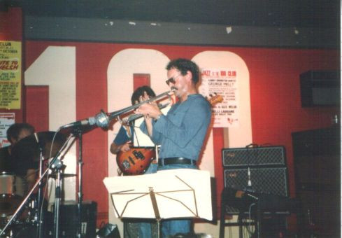 Nucleus at 100 Club, Oxford Street, London. Date unknown.