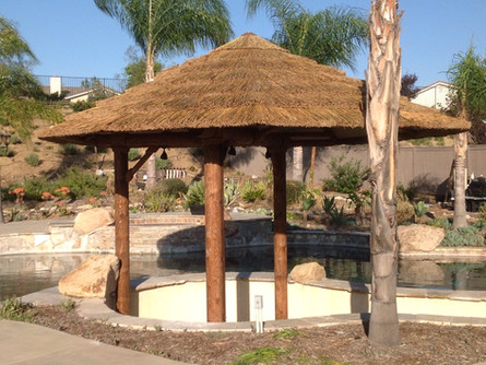 3 Post Palapas-African Thatch