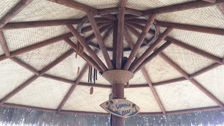 1 Post Palapas-Mexican Thatch