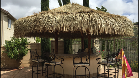 3 Post Palapas-Mexican Thatch