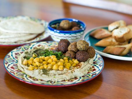 Israeli Falafel with Tahini Sauce