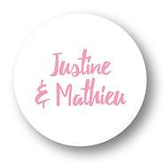My own printable design, macaron des mariés à imprimer, collection feuillage gourmand