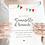 Thumbnail: Carte demoiselle d'honneur - Collection guinguette - Fichier numérique