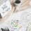 Thumbnail: Set de table à colorier - Collection guinguette - Fichier numérique