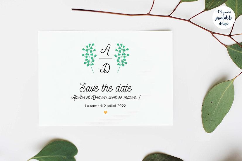 Save the date - Collection éternité - Fichier numérique