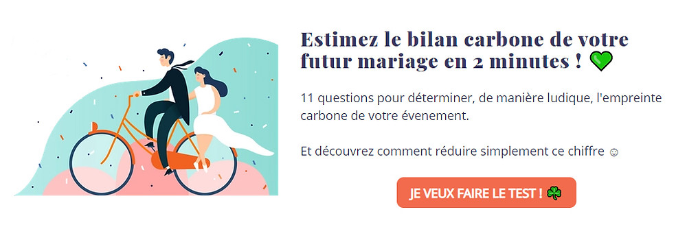 Simulateur de bilan carbone mariage