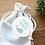 Thumbnail: Etiquette Merci vert - Collection Baleine - Fichier numérique