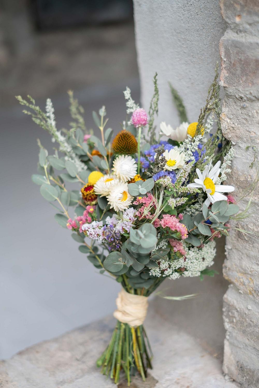 bouquet de mariée écolo. Crédit photo : Lena G
