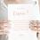 Thumbnail: Carte témoin (femme) - Collection délicatesse - Fichier numérique
