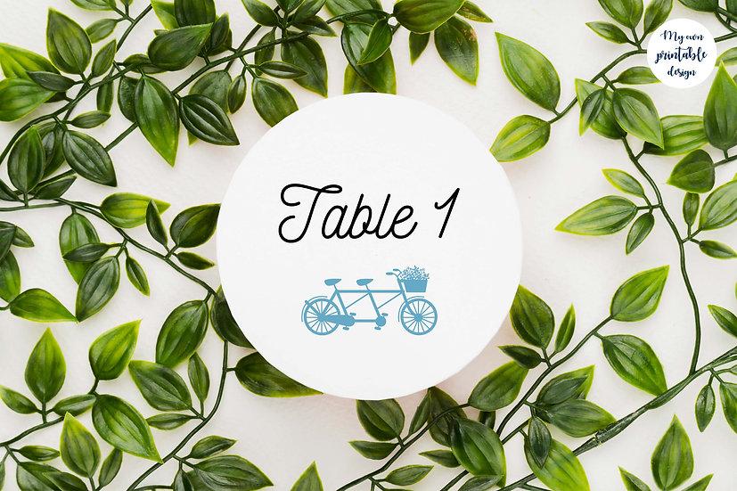 Numéros de table - Collection éternité - Fichier numérique