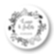 My own printable design, macaron des mariés à imprimer, collection printemps noir
