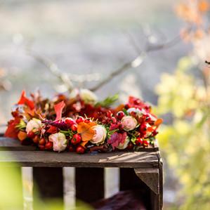 Un mariage zéro déchet d'automne
