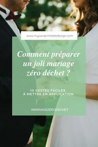 Comment rendre son mariage zéro déchet ? 10 idées faciles à mettre en application