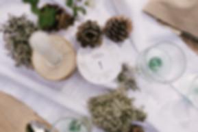 Table de mariag zéro déchet, numéro de table collection printemps de My own printable design imprimé sur du papier ensemencé. Crédit photo : Lisebery